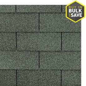 GAF Royal Sovereign 33 33 sq ft Slate Traditional 3 Tab Roof Shingles