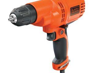 BlACK DECKER 3 8 Inch 5 2 Amp Corded Drill Driver  DR260C