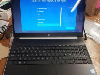 HP 15 dw0000 15 dw0025cl 15 6  Touchscreen Notebook   1366 x 768   Core i5 i5 8265U   8 GB RAM   256 GB SSD   Refurbished  Retail 494 99