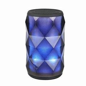 lAUD Crystal lED Colorful Wireless Speaker