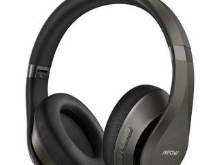 Mpow H20 Bluetooth Headphones Bluetooth 5 0 HiFi Deep Bass Wieless Headphones Over Ear Memory Protein Earpadsawith Mic
