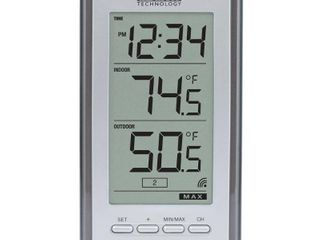 laCrosse Technology WS9160UITCBP Wireless Indoor Outdoor lCD Thermometer