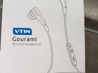 Bluetooth Headphone V4 1 Magnet Circle Wireless Sports Earphone Noise Cancelling Blue Earbud with Mic