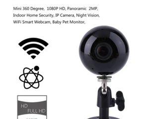 Mini 360 Degree Wireless Sricam 1080P Panoramic IP Camera Night Vision Webcam