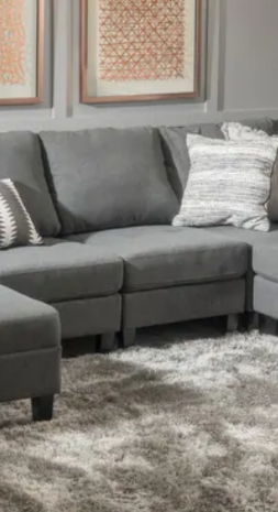 Zahra 1 Piece of Sofa Sectional by Christopher Knight Home