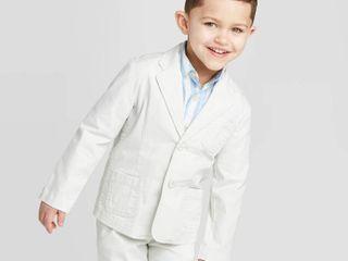 OshKosh B gosh Toddler Boys  Easter Blazer Sweatshirt   White 18M
