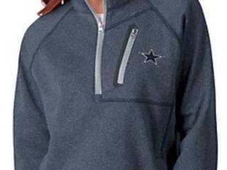 NFl Dallas Women s 1 4 Zip Pull Over Microfleece lined Jacket
