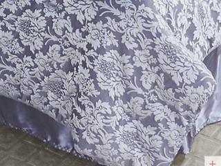 Northern Nights Jacquard Reversible 7 Piece Queen Comforter Set  Mocha