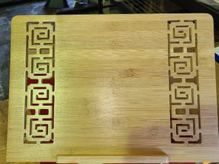 Bamboo laptop Stand or CookBook Stand
