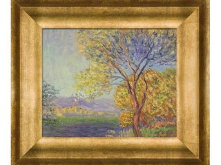 Monet Antibes  View of Salis Oil Reproduction  Retail 123 49