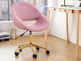 OVIOS Cute Desk Chair Plush Velvet Office Chair for Home or Office Modern Comfortble Nice Task Chair for Computer Desk  Retail 147 49