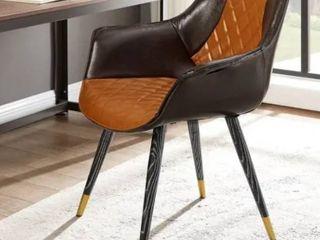 Carson Carrington Igelsjoberg Upholstery Armrest Accent Desk Chair  Retail 147 49