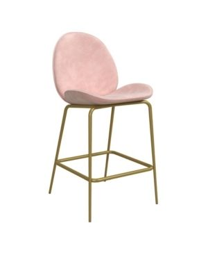 Cosmoliving by Cosmopolitan Astor Upholstered Counter Stool  Retail 141 99