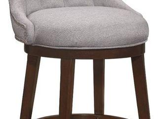 Hillsdale Furniture Halbrooke Swivel Bar Height Stool  Retail 299 00