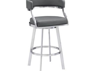 Bar Height   29 32 in  Saturn Bar and Counter Height Swivel Stool  Retail 275 99