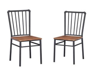 Balthazar Industrial Chairs  Set of 2  by Christopher Knight Home  Retail 127 49