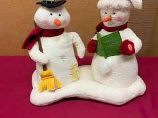 Hallmark Snowman couple