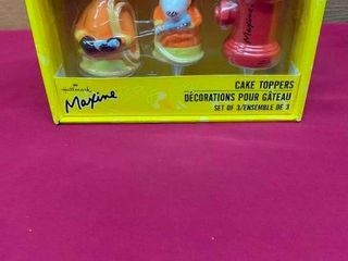 Maxine collectible cake toppers