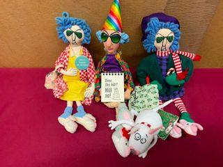 Maxine collectible stuffed figurines