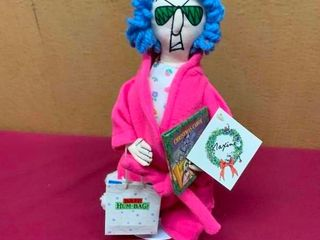 Collectible Maxine Christmas robe figurine