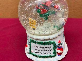 Collectible Maxine snow globe