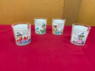 Collectible Maxine cocktail glasses