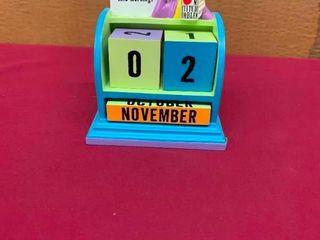 Collectible Maxine cube calendar