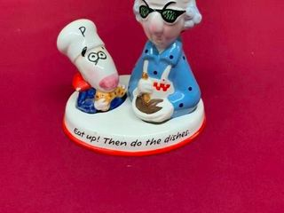 Collectible Maxine salt and pepper shaker