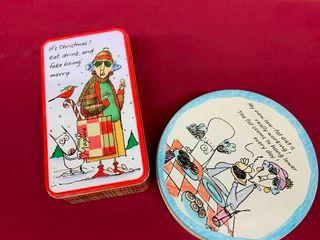 Collectible Maxine tin boxes