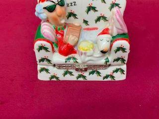 Collectible Maxine Christmas treasure box