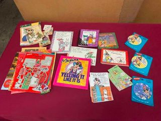 Collectiblew Variety of Maxine books