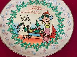 Collectible Maxine Christmas plate