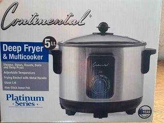 Continental Deep Fryer   Multicooker