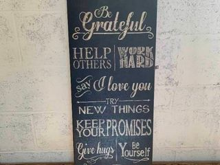 Family Rules canvas wall decor