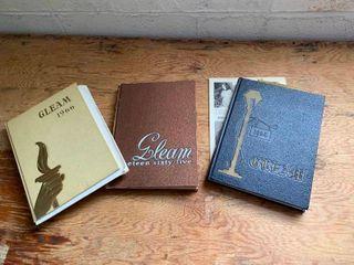 Vintage yearbooks