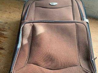 Canvas luggage bag