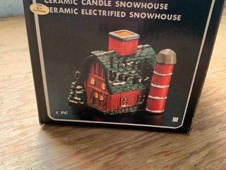 Ceramic snowhouse