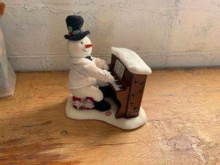 Hallmark Snowman with piano