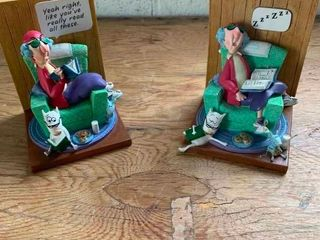 Maxine bookends