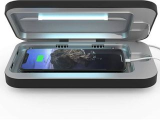 PhoneSoap 3 UV Smartphone Sanitizer   Universal Charger   Patented   Clinically Proven UV light Disinfector    Black