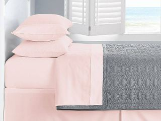 Ultra Soft Microfiber Double Brushed Blissful Dreams Queen Sheet Set Bedding
