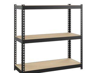 Hirsh Narrow 1000 Rivet Shelving 3 Shelf 30 H X 30 W X 12 D for Home