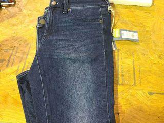 Women s Mid Rise Skinny Jeans   Universal Thread Dark Wash 2 Short  Blue