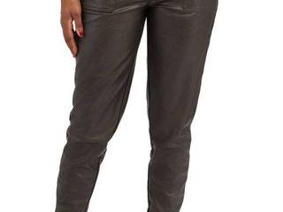 Women s Spanx Faux leather Jogger Pants Xl