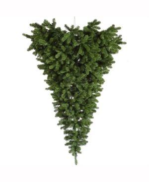 6  Unlit American Upside Down Artificial Christmas Tree  Green