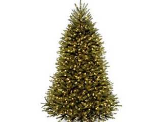 6 5 Foot Dunhill Fir Tree with Clear lights