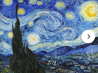 Starry Night  by Vincent Van Gogh Painting Print on Canvas   Retail  589 99