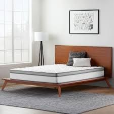 osleep 10 inch spring and memory foam hybrid mattress full