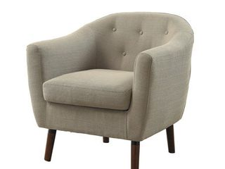 lucille accent chair  Beige color