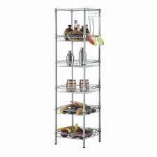 6 layers carbon steel and pp storage rack